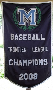 Felt & Tackle twill Baseball Banners